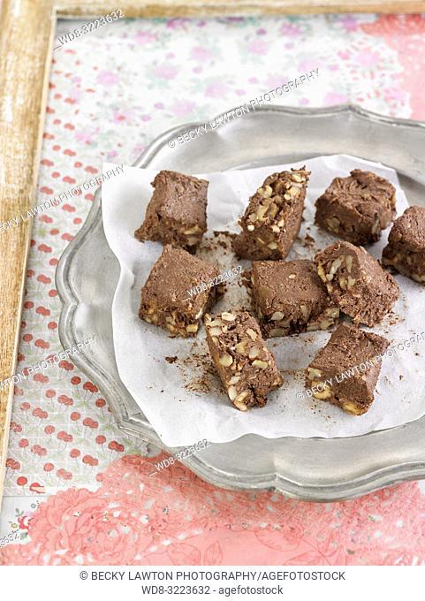 brownies de chocolate / chocolate brownies