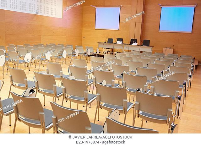 Conference, Training room, Ficoba, Irun, Gipuzkoa, Basque Country, Spain