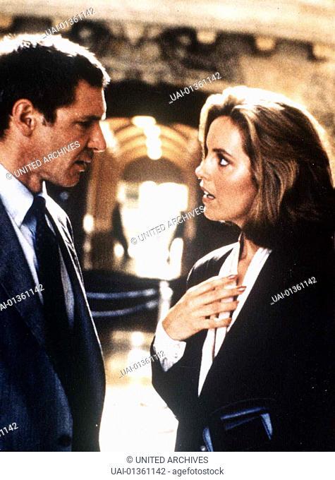 Harrison Ford, Greta Scacchi  Mit seiner attraktiven Kollegin Carolyn Polhemus (Greta Scacchi) hat der stellvertretende Staatsanwalt Rusty Sabich (Harrison...