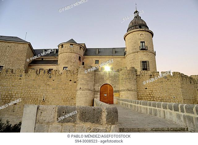 Castle, archive of Simancas, Valladolid, Spain