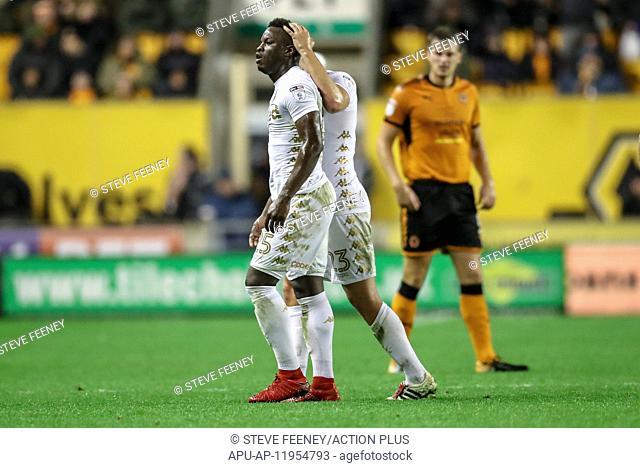 2017 EFL Championship Wolves v Leeds Utd Nov 22nd. 22nd November 2017, Molineux, Wolverhampton, England; EFL Championship football