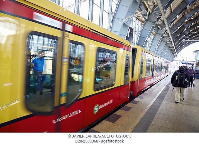 Alexanderplatz railway station, Alexanderplatz, Berlin, Germany