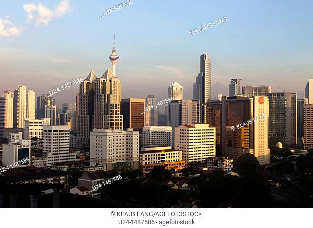 Evening, Skyline, Kuala Lumpur, Malaysia