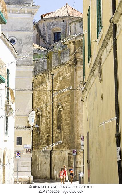 Monopoli in Puglia, Italy.,Madonna della Madia cathedral