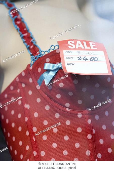 Sale price on bustier