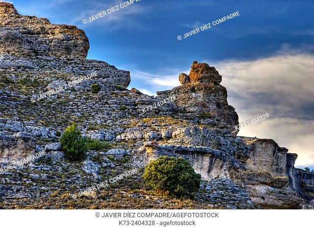Sierra de Pela y Laguna de Somolinos Natural Monument. Somolinos. Guadalajara Province. Castilla-La Mancha. Spain