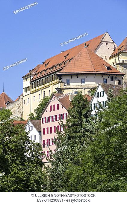 Hohentubingen Castle, Tubingen, Baden-Wurttemberg, Germany