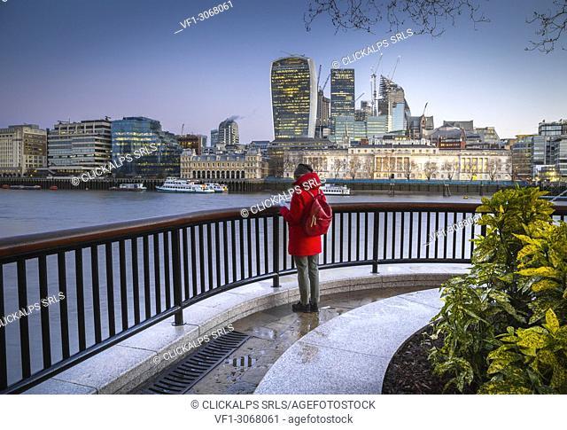 London financial district. London, United Kingdom