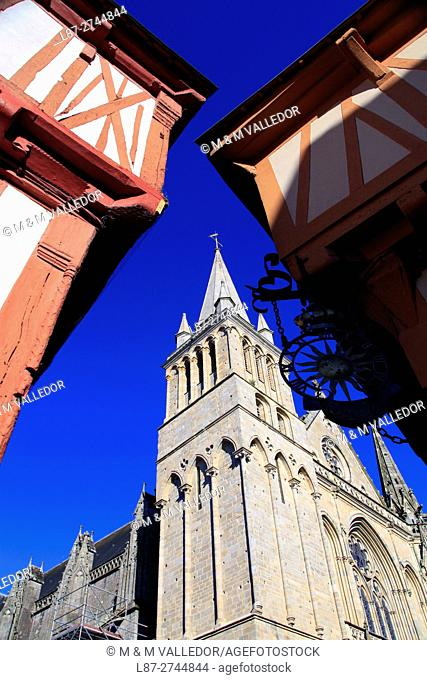 CATHEDRAL OF VANNES, BRETAGNE, FRANCE