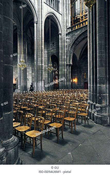 Clermont-Ferrand Cathedral, Clermont-Ferrand, France