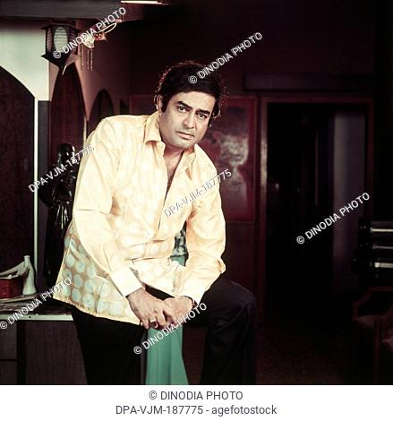 1980, Portrait of Indian film actor Sanjeev Kumar