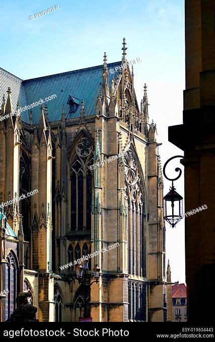 Cathedral Saint-Etienne de Metz, Lorraine