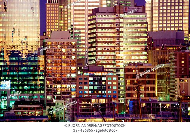 Buildings at Darling Harbour. Sydney. Australia