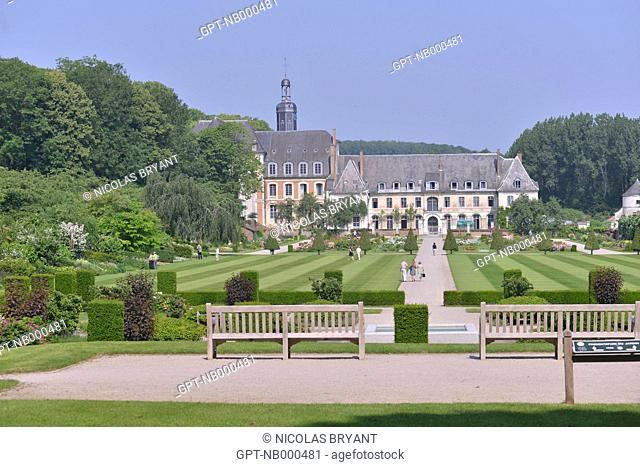 ABBEY OF VALLOIRES, ARGOULES, SOMME (80), PICARDIE, FRANCE