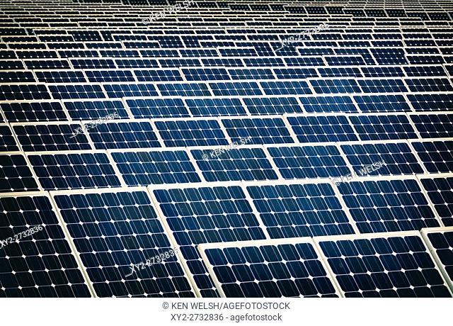 Solar energy centre near Guadarranque, San Roque, Cadiz Province, Spain
