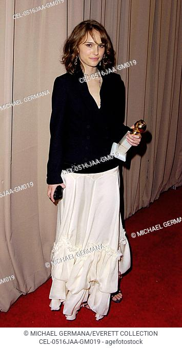 Natalie Portman at the MIRAMAX 2005 GOLDEN GLOBES AFTER-PARTY, Beverly Hilton Hotel, Beverly Hills, CA, January 16, 2005