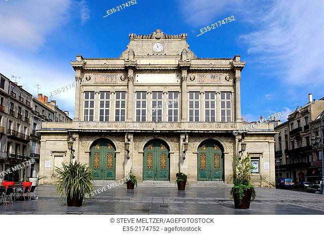 The Municipal Theater of Beziers, France