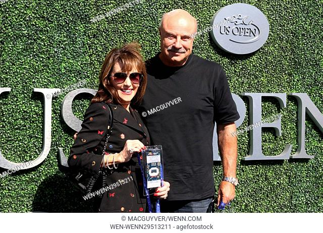 2016 US Open Tennis Championships - Men's Final Featuring: DR. Phil Mcgraw, Robin Mcgraw Where: New York, United States When: 12 Sep 2016 Credit: Macguyver/WENN