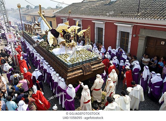 Guatemala, Antigua, Holy week, Palm Sunday
