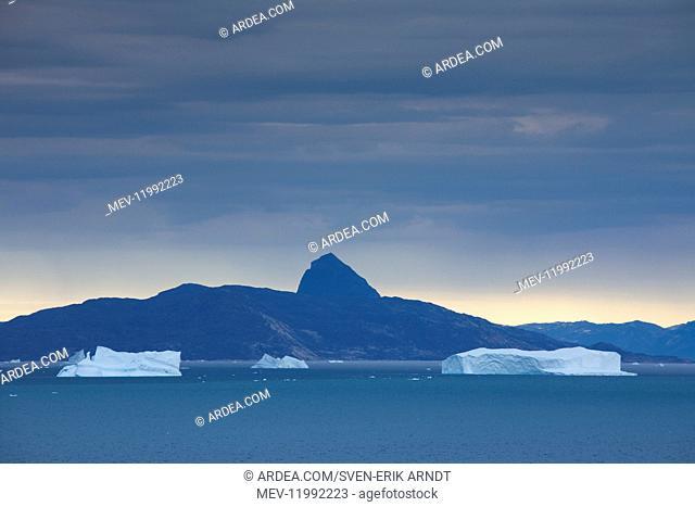 Icebergs at Uummannaq Fjord - Greenland