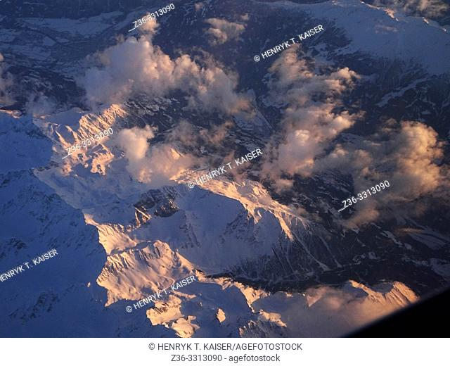 Alps from air