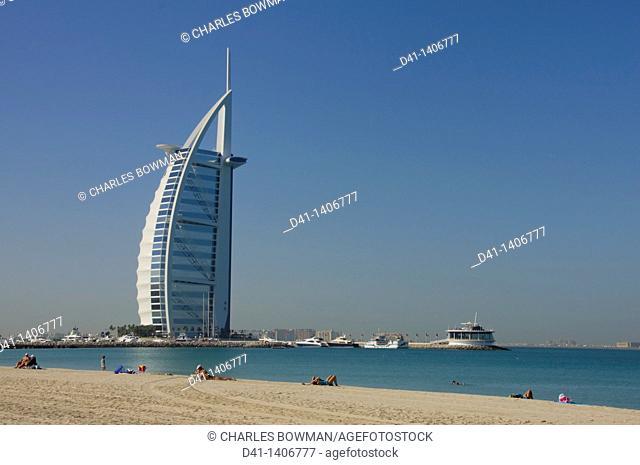 Middle East, UAE, Dubai, Burj al Arab Hotel