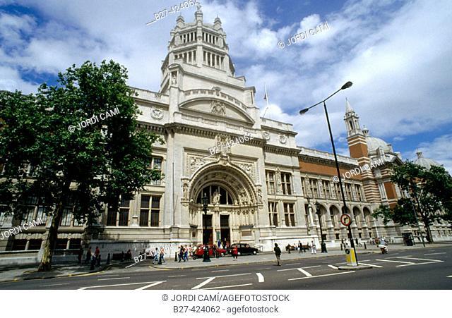 Victoria and Albert Museum. London. England