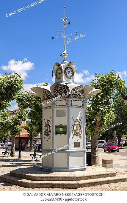 O Reloxo, weather station, Alameda Soage, Cangas de Morrazo, Pontevedra, Spain, Europe