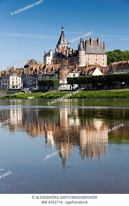 Gien on the Loire, Département Loiret, Region Centre-Val de Loire, France