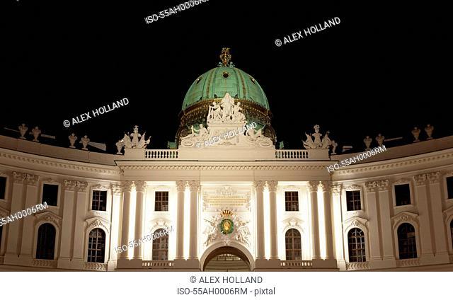 St Michael's Wing, Hofburg Palace, Vienna, Austria
