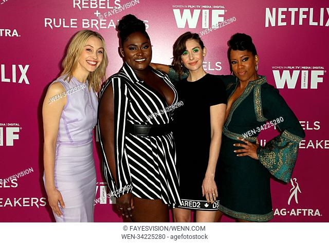 Netflix FYESEE Rebels and Rule Breakers event Featuring: Sarah Gadon, Danielle Brooks, Alison Brie, Regina King Where: Los Angeles, California