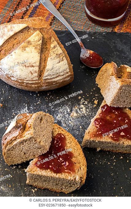 Homemade organic modern bread