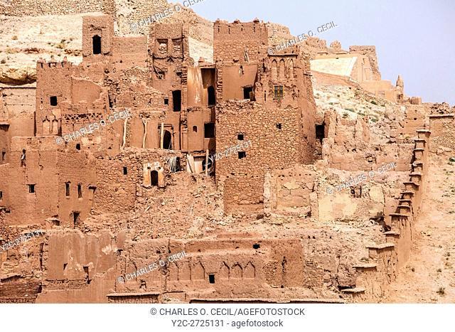 Morocco. Ait Benhaddou Ksar, a World Heritage Site