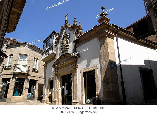 Allariz old town, ourense province, galicia, spain
