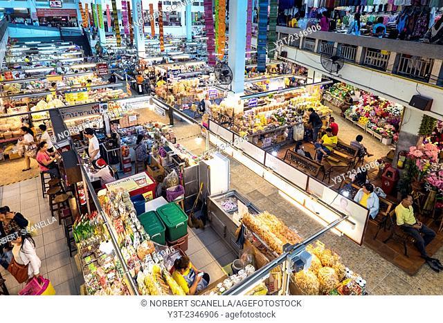 Asia. Thailand, Chiang Mai. Market of Warorot