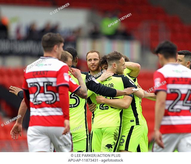2017 Skybet League 2 football Doncaster v Exeter Apr 29th. April 29th 2017, Doncaster, South Yorkshire, England; Skybet League 2 football