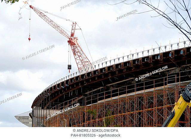 CONSTRUCTION OF NEW APPLE HEADQUARTERS (5/20/2016