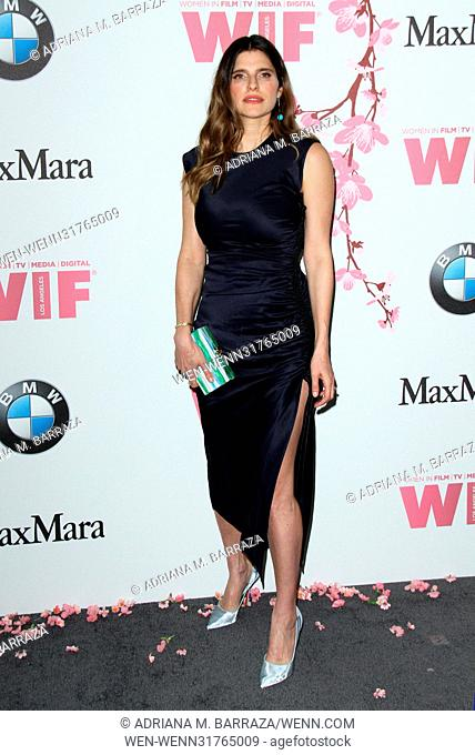 Women In Film 2017 Crystal + Lucy Awards held at The Beverly Hilton Hotel. Featuring: Amy Landecker Where: Los Angeles, California