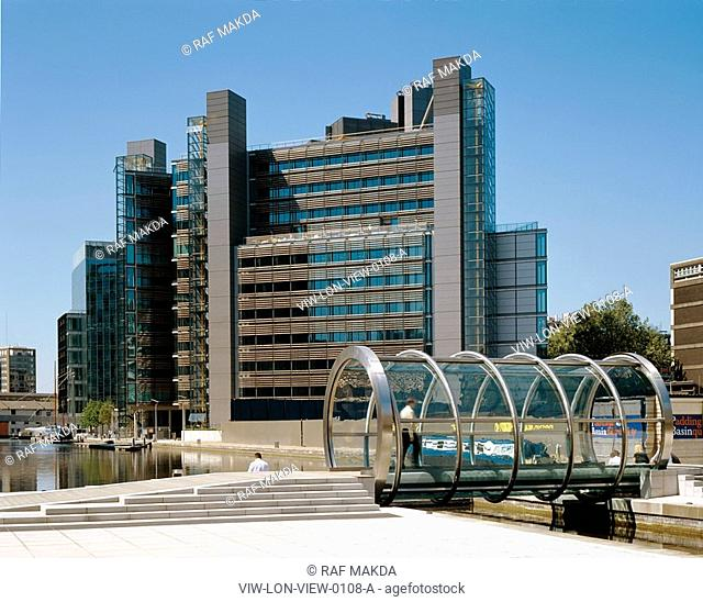 PADDINGTON BASIN REDEVELOPMENT, LONDON, W2 PADDINGTON, UK, LONDON GENERAL VIEWS, EXTERIOR, OVERALL VIEW