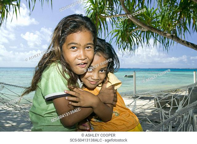 Funafuti atol Tuvalu on the front line of the battle against global warming Only 15 feet above sea level at the highest point with many parts of the island...