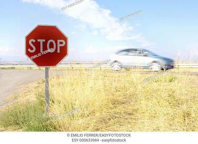 Traffic signal  Spain