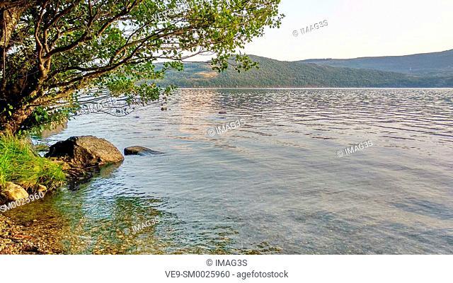 Sanabria Lake Natural Park. Zamora province, Spain
