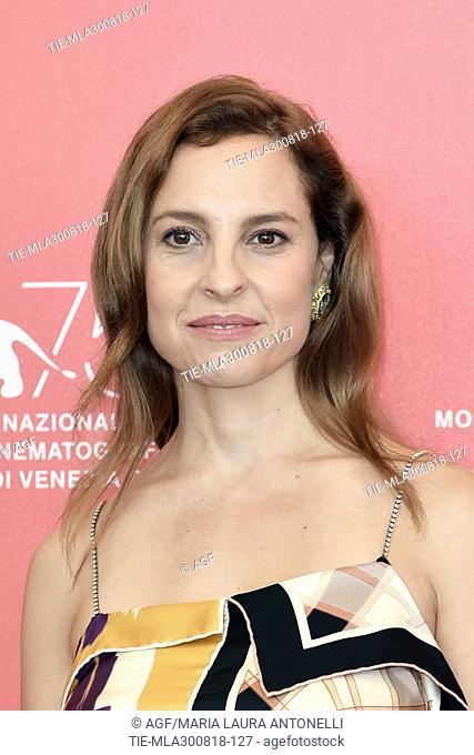 Marina de Tavira during 'Roma' photocall, 75th Venice International Film Festival, Italy - 30 Aug 2018