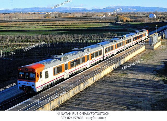 Subway train, Alcoletge, Spain