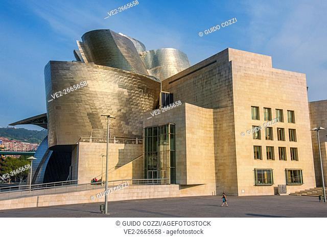 Guggenheim museum By Frank Gehry, Bilbao,  País Vasco (Basque Country), Spain