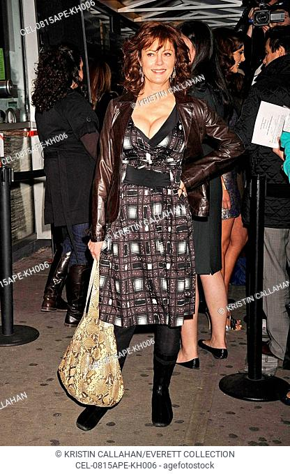 Susan Sarandon at arrivals for Special Screening of THE LIFE BEFORE HER EYES, IFC Center, New York, NY, April 15, 2008. Photo by: Kristin Callahan/Everett...