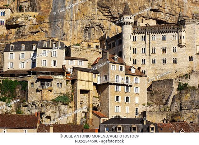 Rocamadour, Lot, Midi-Pyrenees, France