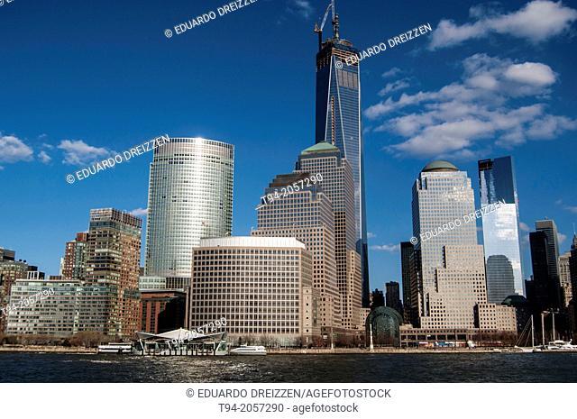 World Trade Center and Lower Manhattan Buildings, New York City
