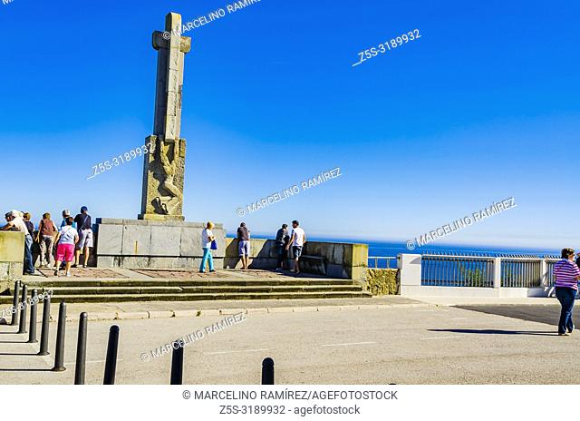 Spanish Civil War Memorial Santander. This memorial commemorates the residents of Santander who fought on the Nationalist side and were killed or missing in the...