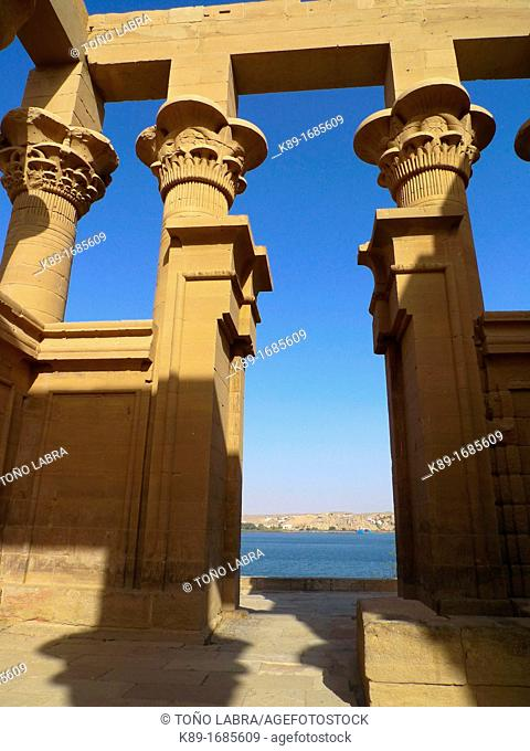 Philae Temple Isis Temple  Aswan  High Egypt